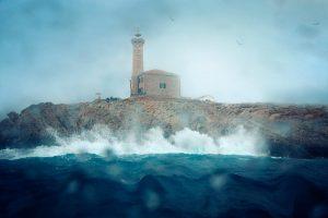Svetionik nemirno more
